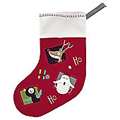 Mamas  Papas Small Stocking Traditional Xmas