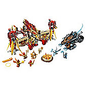 LEGO Chima Flying Phoenix Fire Temple 70146