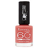 Rimmel 60 Seconds N/Polinstyle Coral8Ml