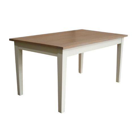 Home Essence Jamestown Dining Table in Old English White