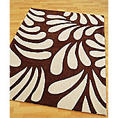 Origin Red Lily Chocolate Rug - 170cm x 120cm