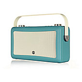 VQ Hepburn Mk II DAB Plus Radio and Bluetooth Speaker -Teal