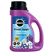 Miracle Gro Flower Magic seeds - blue & white