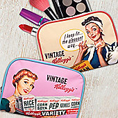 Kellogg's Vintage Makeup Bag