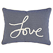 Tesco Love Chambray Cushion