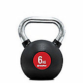 Bodymax Chrome Handle Kettlebell - 6kg