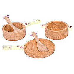 Bigjigs Toys BJ387 Pots and Pans Set
