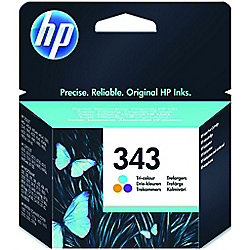 HP 343 Tri-colour Original Ink Cartridge