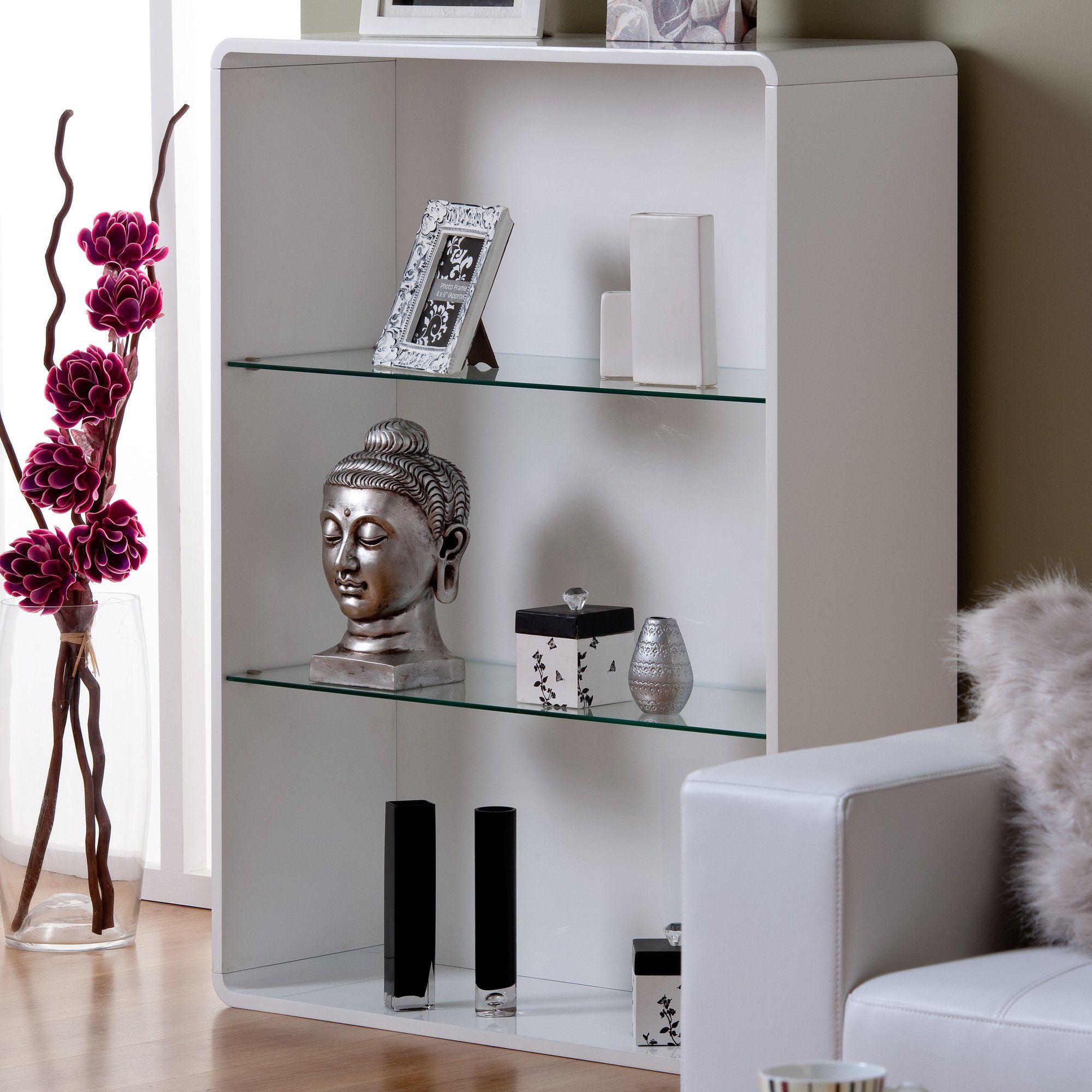 World Furniture Toscana Bookcase - White at Tesco Direct