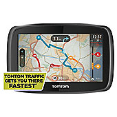 "TomTom Go 400 Sat Nav 4.3"" Screen with European Maps"