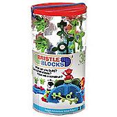 Bristle Blocks Jungle Adventure in a Tube 36pcs