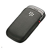 Research In Motion BlackBerry Curve 9220/9310/9320 Leather Pocket Black