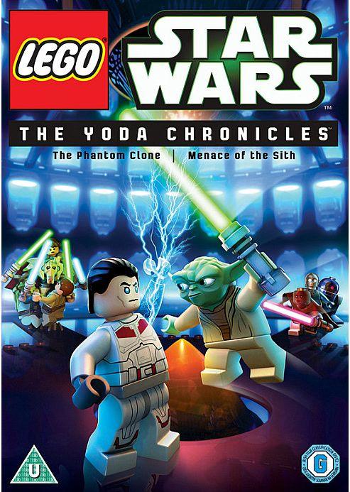 Star Wars Lego: The Yoda Chronicles (DVD)