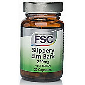 Fsc Slipperry Elm 250Mg 30 Tablets