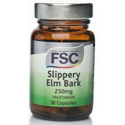 Fsc Slipperry Elm 250Mg 30 Tablets