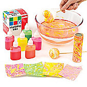 Fluorescent Marbling Inks for Children to Create Patterns and Decorate Arts and Crafts (Pack of 6)