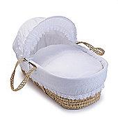Clair de Lune Palm Moses Basket (Vintage)