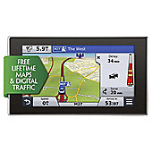 "Garmin nuvi 3598LMT-D EU Sat Nav, 5"" LCD Touch Screen with UK & European Maps & Free Lifetime Map Updates"
