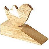 Parlane Natural Wooden Bird Doorstop - 13 x 16 x 5cm