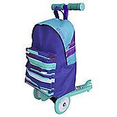 Zinc Rucksack Scooter - Blue