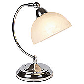 Loxton Lighting Touch Table Lamp - Polished Chrome