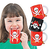 Pirate Mugs (Pack of 4)