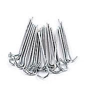 Mitre Metallic Goal Net Pegs