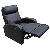 Home Zone Dallas Recliner - Black