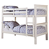 Altruna Devon Bunk Bed Frame - White