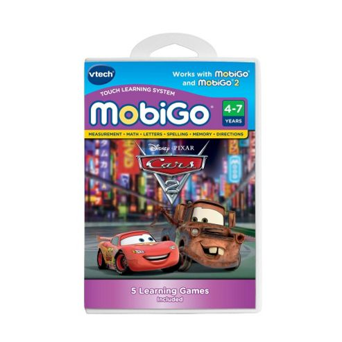 Vtech MobiGo Touch Learning System Game - Cars 2