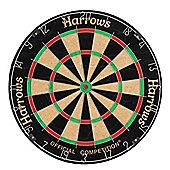 HARROWS Competition Bristle Dart Board Dartbard