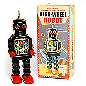 Retro Tin Collectable Ornament - Black