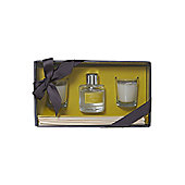 Linea Lemongrass & Ginger Diffuser & Votive Set