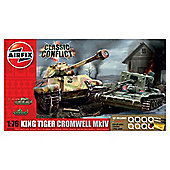 Airfix Classic Conflict Tank Gift Set