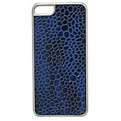 Tortoise™ Look Hard Case iPhone 5 Mock Croc Blue