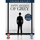 Fifty Shades Of Grey - The Unseen Edition (2 Disc special exclusive to Tesco)