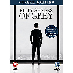 Fifty Shades Of Grey - (2 Disc special exclusive to Tesco) - The Unseen Edition