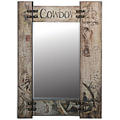 Alterton Furniture Miscellaneous Wired Up Cowboy Wall Mirror