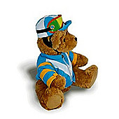 The Great British Teddy Bear - Jockey Blue