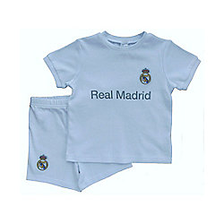 Real Madrid Baby Kit T-Shirt and Shorts - 2015/16