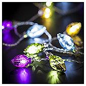 Tesco 30 Multicoloured Glass Lights