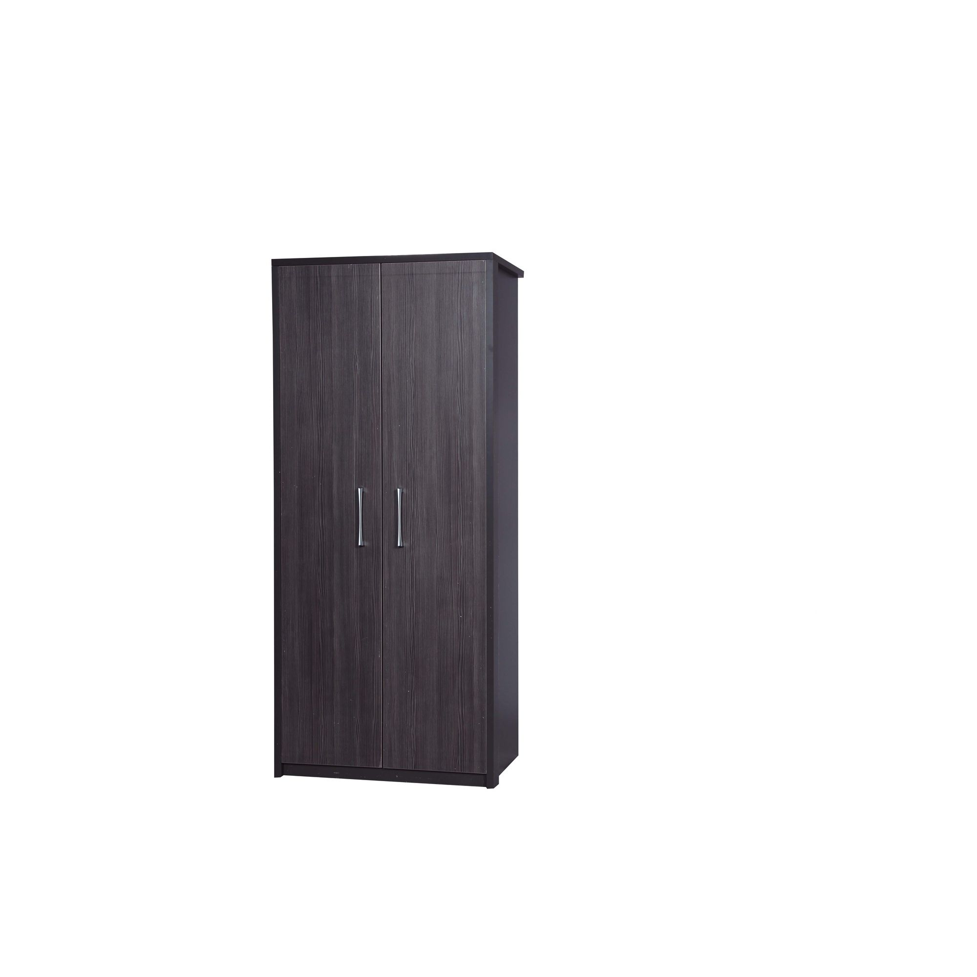 Alto Furniture Avola Double Wardrobe - Grey Carcass With Grey Avola at Tesco Direct