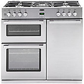Belling DB490DFT Professional Range Cooker in Stainless Steel