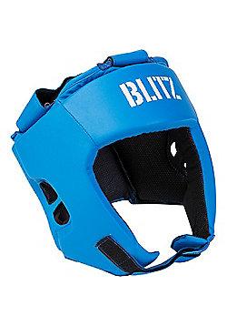 Blitz - Club Semi Contact Head Guard - Blue