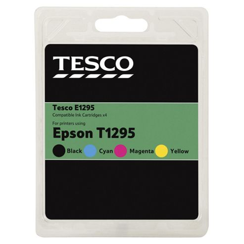 Tesco E1295 Printer Ink Cartridge - Tri-Colour