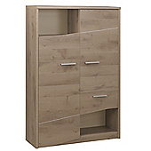 Gami Palace Wardrobe - Oak