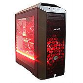 Cube MC5 Pro Gaming PC Overclocked i5k Skylake with Radeon R9 380 4Gb Graphics CU-MC56600kWIN10 Intel i5 6600k 3.5Ghz Builtin Wireless Card Desktop