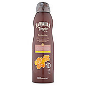 Hawaiian Tropic Continuous Oil Spray Spf10 180Ml
