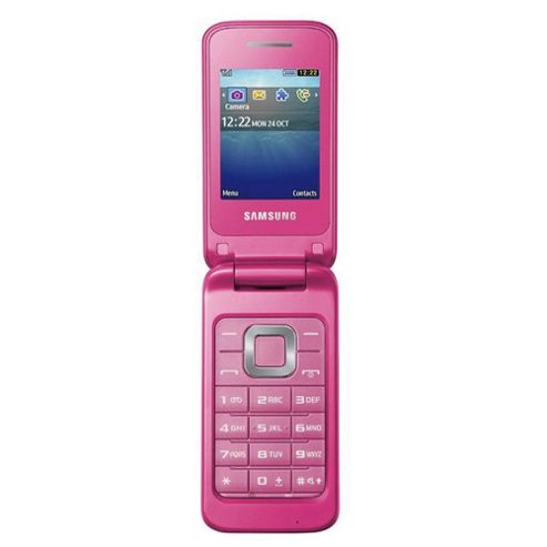 Tesco Mobile Samsung C3520 Coral Pink