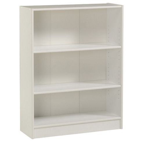 Parisot Blanc Wide Bookcase